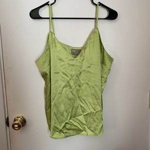lime green tank by ASOS